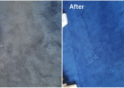 Carpet cleaner Wokingham - before and after